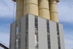 ALQUEZAR Plantas de hormigón verticales