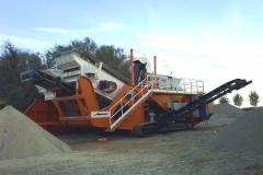 ALQUEZAR  maquinaria producción Aridos
